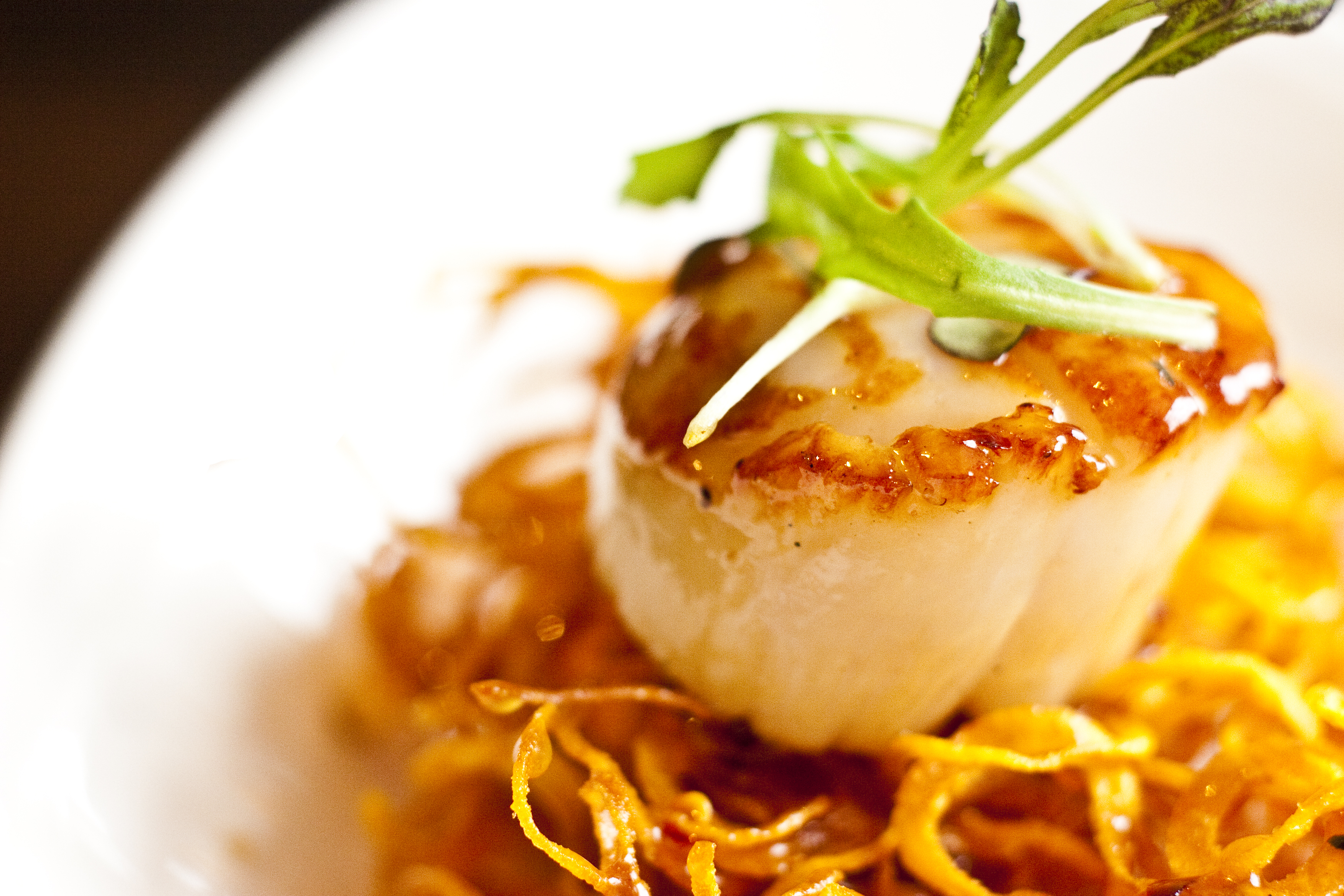 Recipe: Maple-Glazed Scallops | Recipe for Relaxation